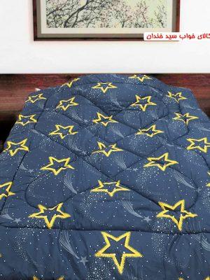 سرویس ملحفه دو نفره ستاره زرد