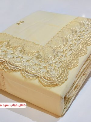 سرویس ملحفه دو نفره کاوردار 4 تکه - الگانس 14